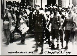 اكرم نشات عندما كان ملازم في حركة مايس 1941