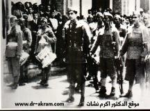 الملازم اكرم نشات في حرس الشرف ثورة مايس 1941